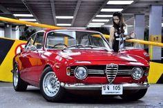 Alfa Romeo GTAm #alfaromeogirl