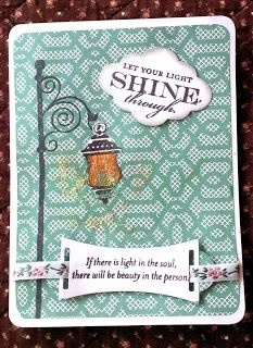 Papercrafting From Another Viewpoint: Illuminate November Stamp of the Month Blog Hop #SparkleAndShine