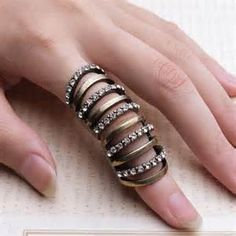 long finger rings - Yahoo Image Search Results