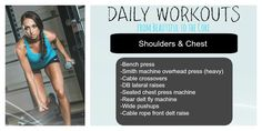 Build your Chest and Shoulders!