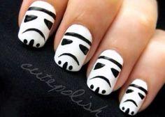 Star wars nails :D