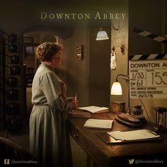 Did you know that Lesley Nicol loves to film in her kitchen, it is one of her favourite sets! #Series6 #TheFinal#Series #Downton #DowntonAbbey #BehindTheScenes ..