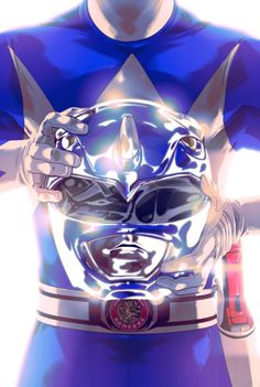 Mighty Morphin Blue Ranger - Goni Montes