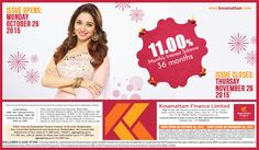 NCD - Save For Future | Visit : www.kosamattam.com Contact your nearest Kosamattam branch : +91 - 481 - 2586400