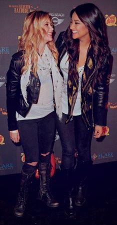 Shay Mitchell and Ashley Benson