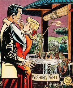 Vault of Horror #18. Illustration by Johnny Craig (1951)