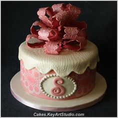 ~example of cake they make for Rush orders at Sweet Designs by Larissa, www.cakes.keyartstudio.com~