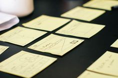 These 5 deliverables provide guidance and structure to the user experience design process.