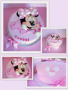 Fondant Minnie Cake