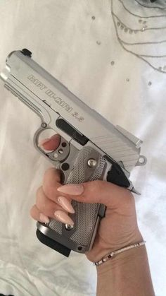 Image via We Heart It https://weheartit.com/entry/175435866 #girl #gun #kawaii #nails #cyberghetto