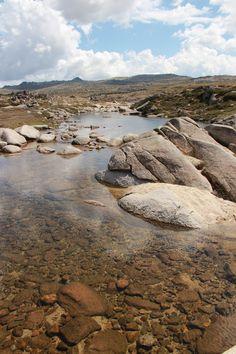 The beautiful Snowy River, Mount Kosciuszko National Park NSW photo©jadoretotravel Tasmania, Snowy Mountains, Travel Goals, Beautiful Landscapes, National Parks, River, Melbourne, Sydney, Aussies