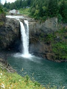 Snoqualmie Falls near Seattle