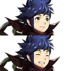 Ike Kanna - So cute! *-* << sort of makes me think of a young Priam... << crack headcanon accepted. After Radiant Dawn, when Ike disappeared, he made it to the outrealms, ended up in Valla, and **REDACTED SPOILERS** and then Kana became known as Priam. Blue hair trumps all genes.