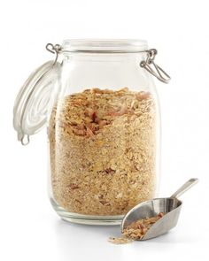 DIY Instant Oatmeal:  If you're always pressed for time in the morning, toast and grind your oats in advance for your own instant oatmeal. It's much healthier than the sugar-laden store-bought versions. Bonus: You can create your own flavors, adding anything from nuts and flaxseed to spices -- cinnamon-apple doesn't have to be your only flavor option!