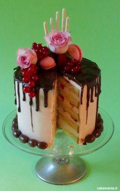 come si fa una drip cake interno