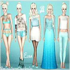 Elsa Frozen, (Please Recommend). by BobSkellington - The Exchange - Community - The Sims 3