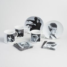 One of my favorite discoveries at WorldMarket.com: Universal Monsters Mug and Plate Collection