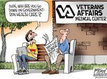 Cartoonist Gary Varvel: Government-run health care and the VA scandal