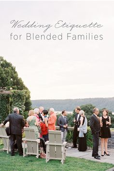 Thank you for this!!!  Wedding Etiquette for Blended Families