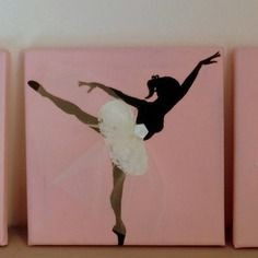 tableau personnalis danseuse au tutu blanc my shop pinterest tutus. Black Bedroom Furniture Sets. Home Design Ideas