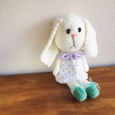 A personal favorite from my Etsy shop https://www.etsy.com/listing/500716868/toy-bunny-easter-bunny-spring-rabbit