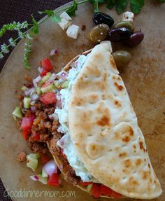 big fat greek tacos recipe -9 Yummy taco recipes!  Meals and desserts!  Great compilation!