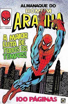 Almanaque do Homem-Aranha n° 1/Rge | Guia dos Quadrinhos