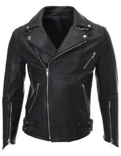 FLATSEVEN Mens Slim Fit Genuine Leather Ribbed Motorcycle Jacket (LJ702) S FLATSEVEN http://www.amazon.com/dp/B00J03UKM6/ref=cm_sw_r_pi_dp_-70wub09N16ZE