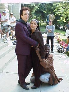 From Dogma - Selma Hayak receives hug from Alan!  Good job, Selma!