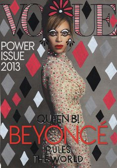 VOGUE Beyonce | illustrations on magazine covers by  | by ANA STRUMPF
