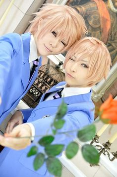 Ouran High School Host Club: Hikaru & Kaoru Hitachiin