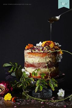 Jono Fleming explores the 'naked cake' phenomenon and adds his own twist with the flavours of Morocco. #dishoftheday