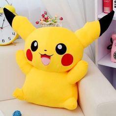 "29.99 USD New 24"" 60CM Cute Giant Big Size Pikachu Pokemon Plush Doll -Soft Stuffed Toy"