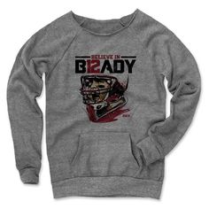 Women's Tom Brady Beta R Maniac Sweatshirt from 500 LEVEL. This Tom Brady Maniac Sweatshirt comes in multiple sizes and colors.
