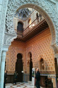 Real Casino de Murcia Moorish, Alicante, Spain Travel, Islamic Art, First Night, Art And Architecture, Barcelona Cathedral, Castles, Brick