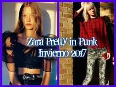 Zara Pretty in Punk Otoño Invierno 2016 2017 Punk, Fashion Outfits, Music, Pretty, Youtube, Women, Musica, Fashion Suits, Musik