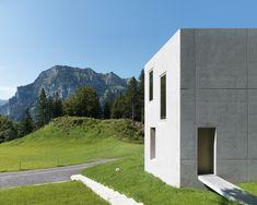 Ein Wohnhaus in Vorarlberg / Aus einem Guss - Architektur und Architekten - News / Meldungen / Nachrichten - BauNetz.de