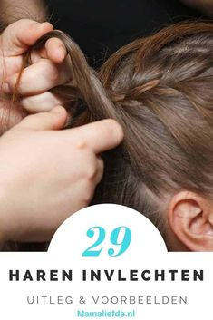 Looking for nice hairstyles or an explanation how you can braid hair? Including examples of various braids, alone and with 2 braids and more. Also for children – Mamal Liefde. Baby Girl Hairstyles, Braided Hairstyles, Cool Hairstyles, Bad Hair, Hair Day, Hair Colorful, Natural Hair Styles, Short Hair Styles, Types Of Braids