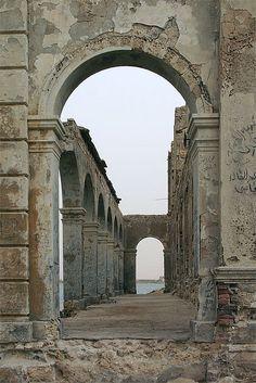 Arches in Suakin, Sudan