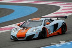 New MP4-12C GT3 set for competitive world racing debut Gulf Livery