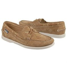 Men's Sebago Docksides Boat Shoe Sand Suede Shoes.com I'd love to spend all summer breaking these in...