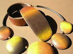 Texture de cuir en polymère..tutoriel...leather texture