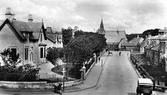 Old photograph of Stevenston in North Ayrshire , Scotland . This Scottish town is named after Stephan Loccard or Lockhart, whose father obta. Family Roots, My Ancestors, Old Photographs, Scotland, The Past, Street View, Tours, History, Highlands
