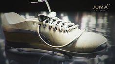 JUSOCCER Badewanne aus Naturstein als Fußballschuh Front Row, Natural Stones, Derby, Oxford Shoes, Dress Shoes, Lace Up, Louis Vuitton, Sneakers, Fashion