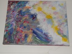"Original Oil on Canvas by  Paul Brown, "" DANCER"""