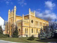 Židovská synagóga. 19. storočie. Vrbové, Slovakia