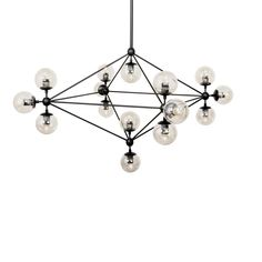 Moda Chandelier 15 Globe http://www.franceandson.com/modern-modo-chandelier-15-globe.html