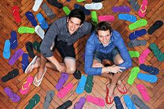 Think your flip-flops have been through hell? Try a pair of Gandys Today Is National, Extraordinary People, Male Form, Travel Style, Really Cool Stuff, Flip Flops, Product Launch, Marketing, Morals