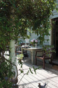 summer porch...