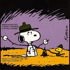 Get Back to Nature, Snoopy - It Doesn't Take Much to Attract a Crowd; UFS 1990